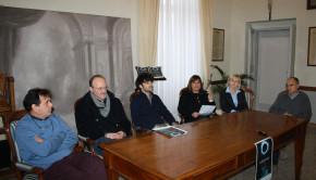 presentazione degli eventi della giornata della memoria 2014 a Corinaldo.