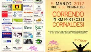 """Torna """"Correndo per i Colli Corinaldesi"""". Appuntamento domenica mattina"""