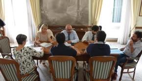 Il Presidente Mastrovincenzo incontra l'Amministrazione comunale. Tre temi per il futuro di Corinaldo